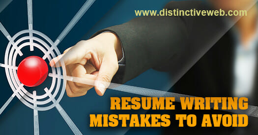 avoid these common resume writing mistakes
