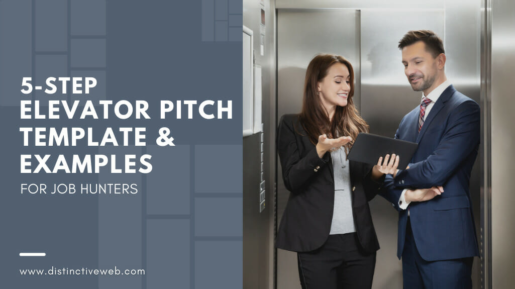 5-step Elevator Pitch Template & Examples For Job Hunters