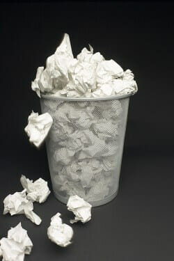 Mistakes On Your Resume May Land It In the Wastebasket