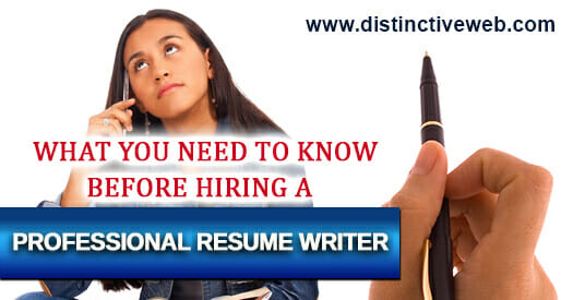 what you need to before hiring a professional resume