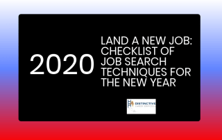 Land a new job in 2020:checklist of job search techniques