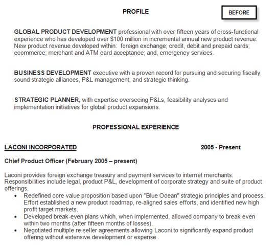 resume help transform your resume for results