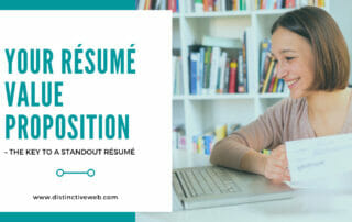 Your Resume Value Proposition - The Key To a Standout Resume