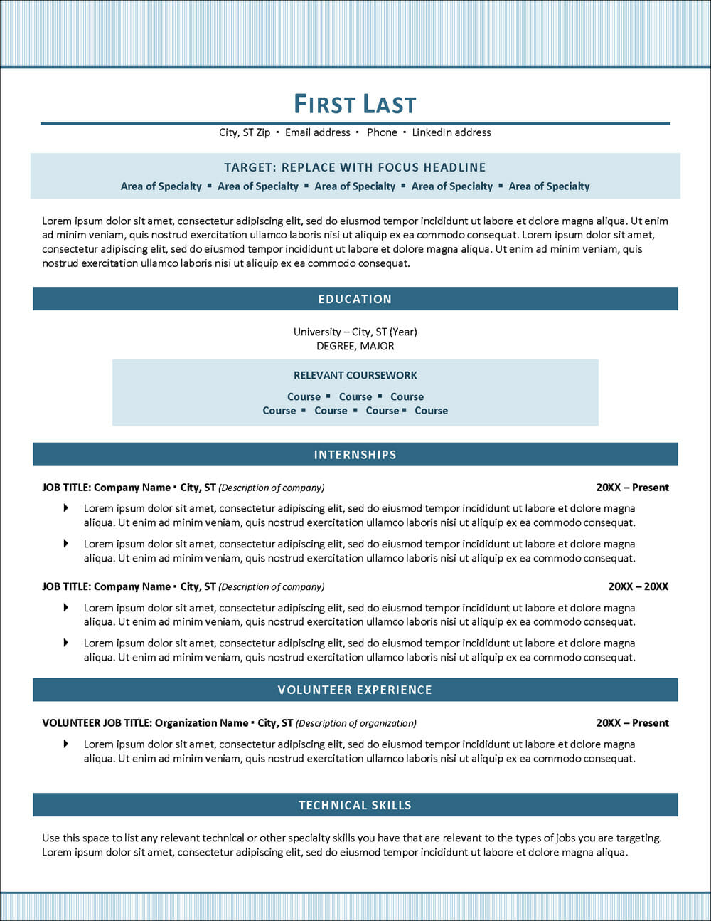 Student Resume Examples & Writing Tips: How To Write Your First Resume