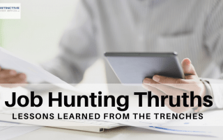 Job Hunting Thruths: Lessons Learned From The Trenches