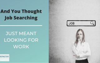 And You Thought Job Searching Just Meant Looking for Work