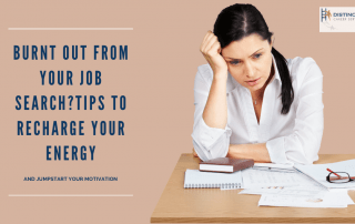 Burnt Out From Your Job Search? Tips To Recharge Your Energy & Jumpstart Your Motivation