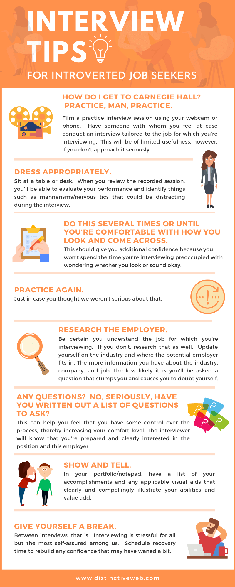 Interview Tips For Introverted Job Seekers