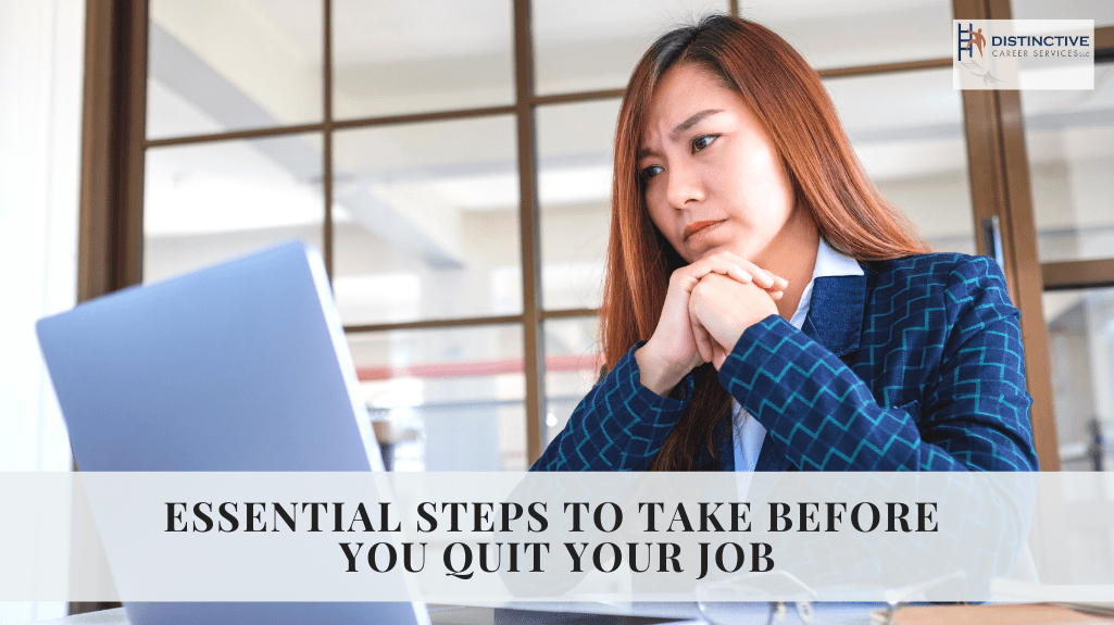 Essential Steps To Take Before You Quit Your Job