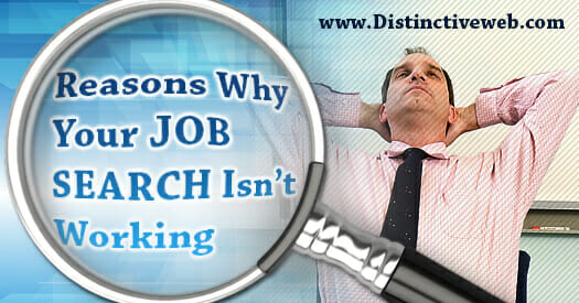 Reasons Your Job Search Isn't Working