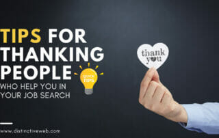 Tips For Thanking People Who Help You In Your Job Search