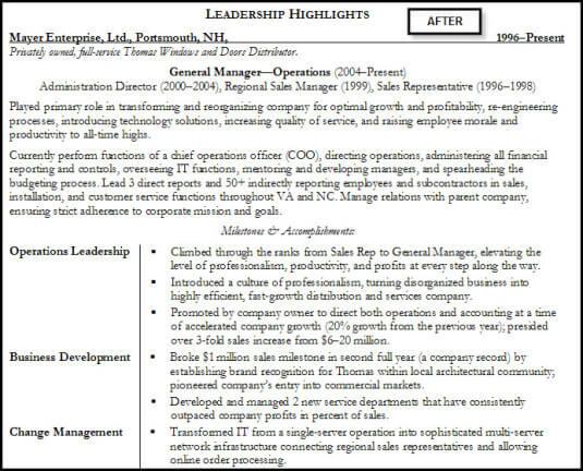 resume-specific