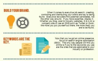 Infographic: Job Searching Techniques to Improve your Executive Job Search