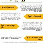 Infographic: Job Hunting Action Steps You Can Put to Use Today