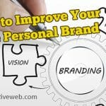 Tips to Improve Your Online Personal Brand - Title Graphic