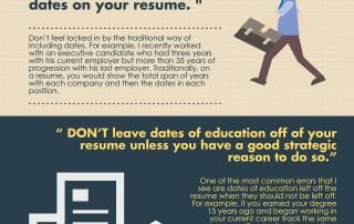 Infographic: Write Your Resume to Avoid Age Bias