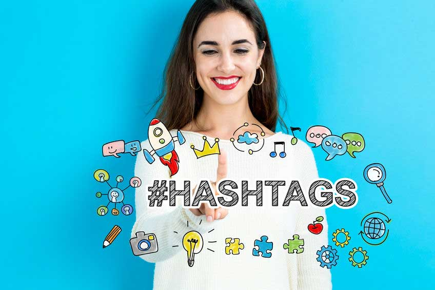 Use hashtags in your job search