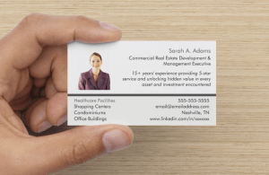 Business Cards for Your Next Networking Event front side