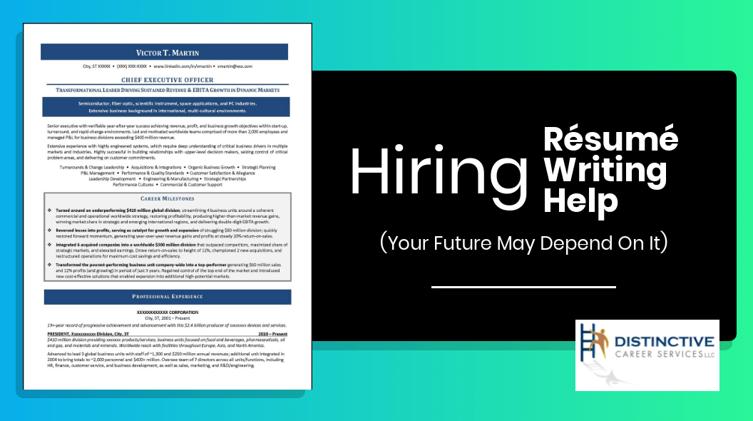 Hiring resume writing help