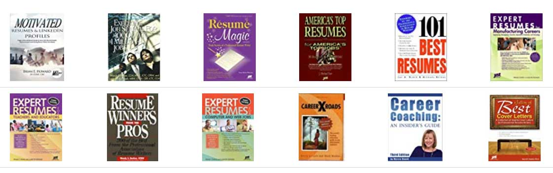 Resume Writing Books that have Published Michelle Dumas' work