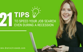21 Tips to Speed Your Job Search Even During a Recession