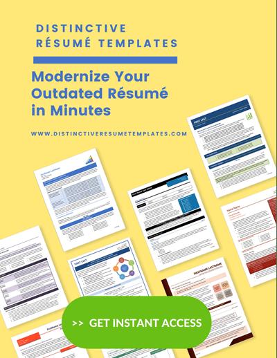 distinctive resume templates sidebar graphic